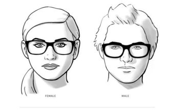 نظارات لشكل الوجوه المستديرة
