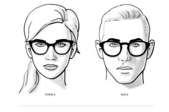 نظارات للوجوه على شكل قلب