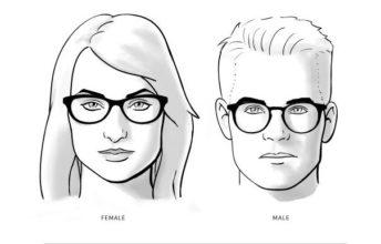 نظارات لشكل الوجوه المربعة
